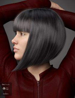 Matilda Hair For Genesis 8 Female(s)
