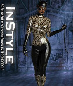 InStyle- SC Selina Suit for Genesis 8 Female