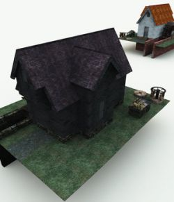 Haunted Watermill for Blender