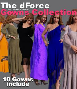 The dForce Gowns Collection for G8F