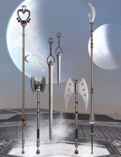 Celestial Moon Weapons Collection