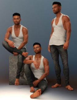 Raw Magnetism Poses for Silas 8