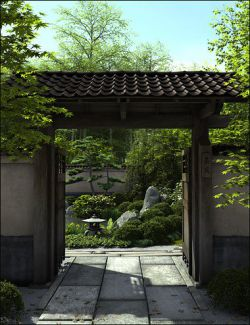 World Gardens Japan for Daz Studio
