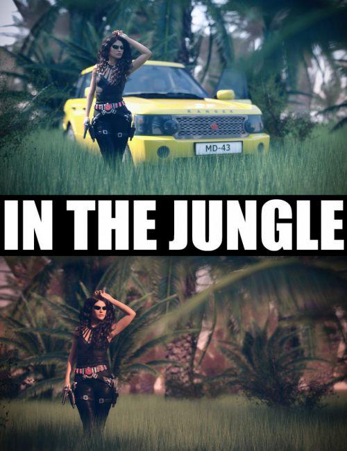 In The Jungle Scene Billboards