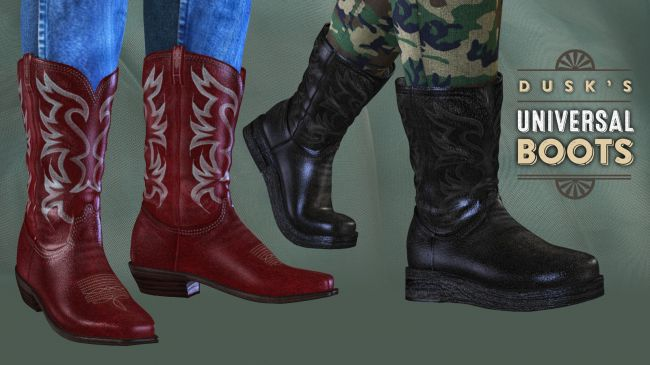 Dusk's Universal Boots