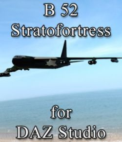 B 52 Stratofortress for DAZ Studio