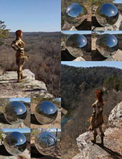 Orestes Iray HDRI Environments - High Bluff Overlook