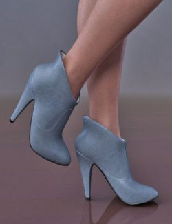 Moira Ankle Boots for Genesis 8 Female(s)
