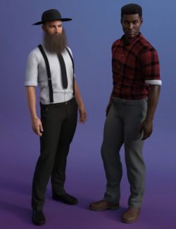 Bluegrass Clothes for Genesis 8 Male(s)
