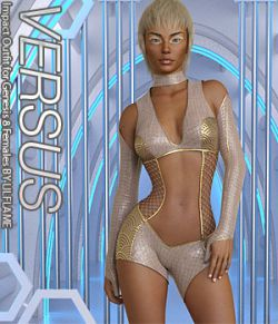 VERSUS - Impact Outfit for Genesis 8 Females