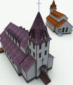 Haunted Church for Blender