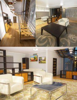 Modern House 2 Props Floor 1