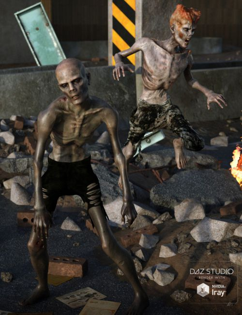 Dead Man Walking HD for Genesis 8 Male