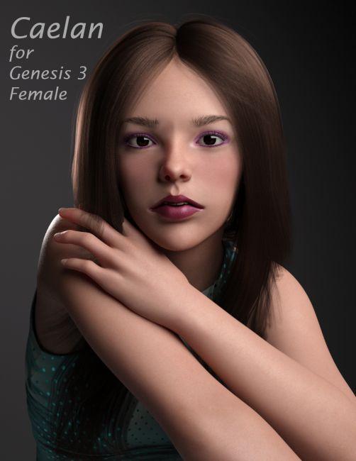 Caelan For Genesis 3 Female