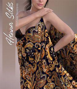 Daz Iray - Henna Silks