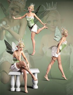 iV Poppy Poses for Poppy and Genesis 8 Female(s)