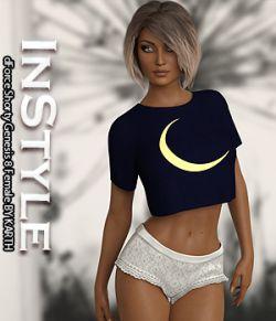 InStyle - dForce Shorty Genesis 8 Female
