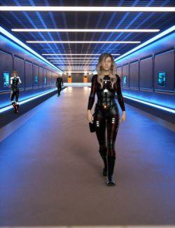 Sci-Fi Starship Corridor Volume 2