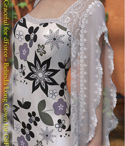 Graceful for dForce - Belinda Long Gown