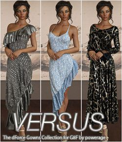 VERSUS - The dForce Gowns Collection for G8F