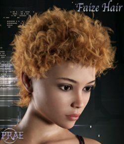 Prae-Faize Hair For G3/G8 Daz
