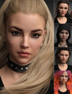 Gorgeous Morphs for Teen Raven 8