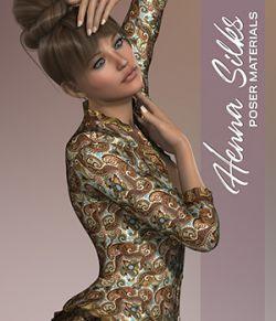 Poser- Henna Silks