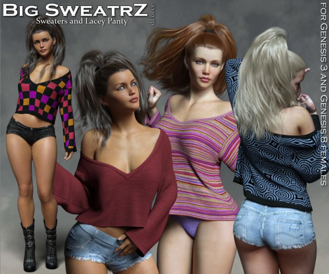 Big SweatrZ dForce for the G3 and G8 Females