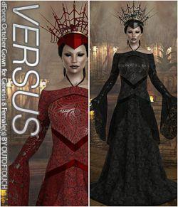 VERSUS- dForce October Gown for Genesis 8 Females
