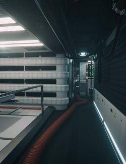 Starship Interior