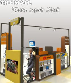 The Mall- Phone repair Kiosk