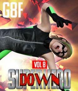SuperHero Down for G8F Volume 8