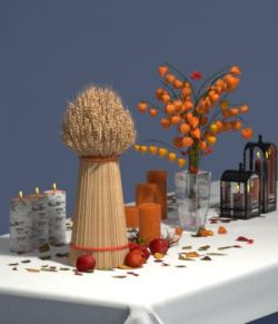 Autumn Decor Bundle 2 - OBJ