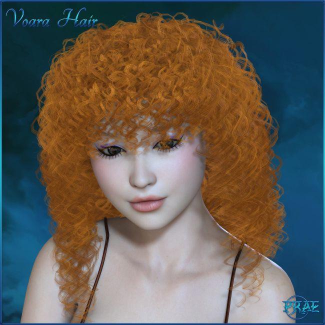Prae-Voara Hair For V4/M4 La Femme Poser