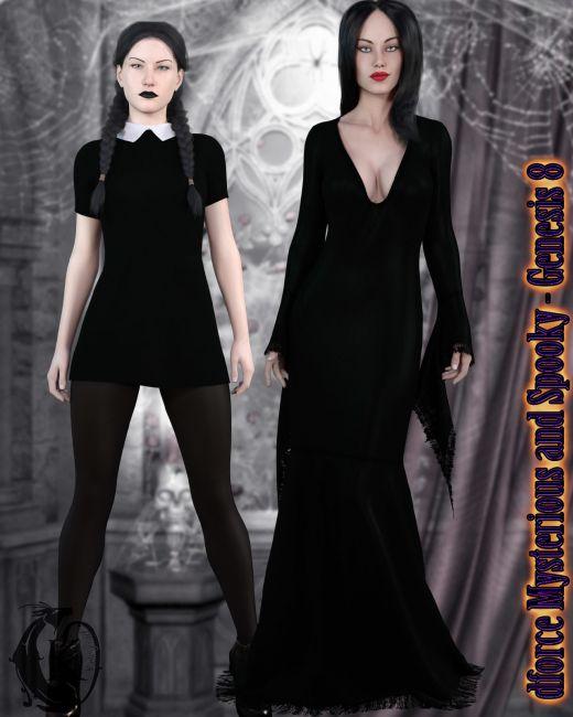 dforce - Mysterious and Spooky - Genesis 8
