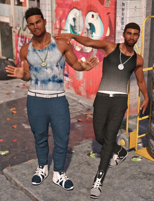 dForce Urban Ace Outfit Textures