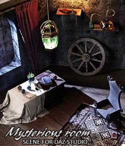 Mysterious Room Daz Studio