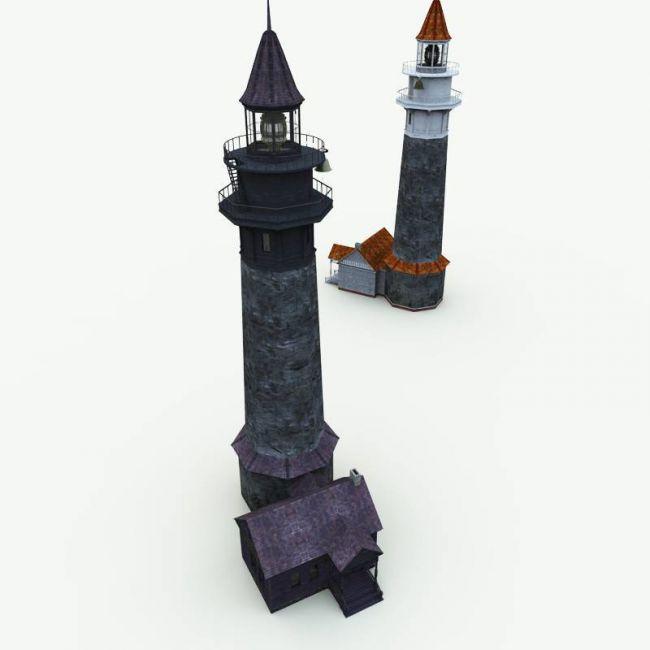 Haunted Lighthouse for Blender