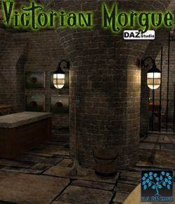 Victorian Morgue for Daz|Studio