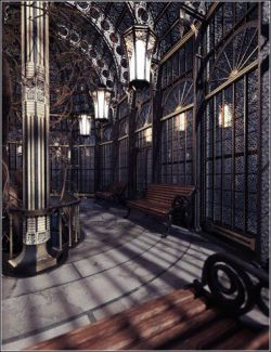 Victorian Iron Conservatory