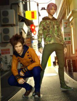 Windwalker Outfit Textures