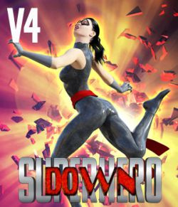 SuperHero Down for V4 Volume 1