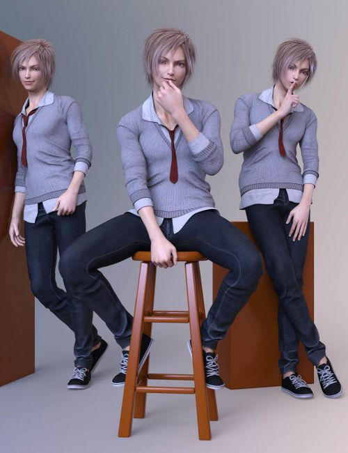 CDI Poses for Yuzuru 8 and Genesis 8 Male
