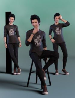 Upscale Poses for Yuzuru 8 and Genesis 8 Male