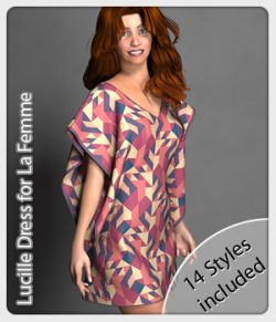Lucille Dress and 14 Styles for La Femme