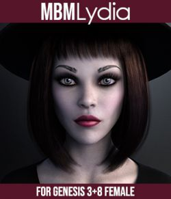 MbM Lydia for Genesis 3 and 8 Female
