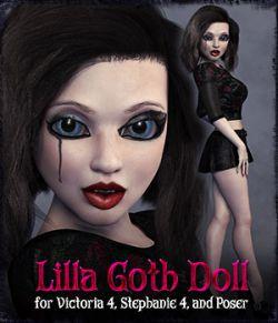 D9S Lilla Goth Doll