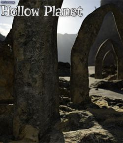3D Scenery: Hollow Planet
