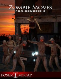 Zombie Moves For Genesis 8