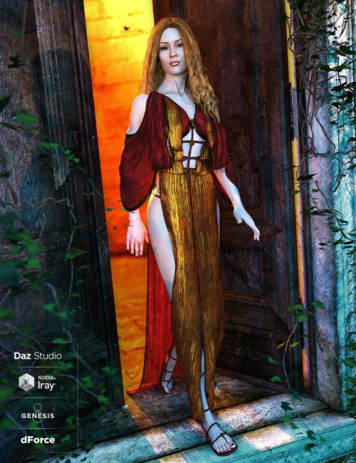 dForce Qabbalah Outfit for Genesis 8 Female(s)